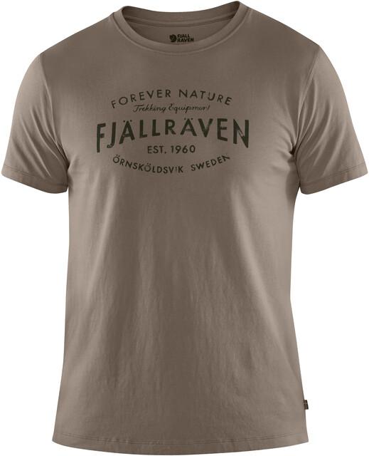 Fjällräven Est. 1960 T shirt Herrer, driftwood